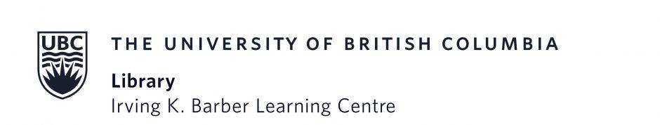 UBC Irving K. Barber Centre Logo