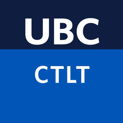 UBC Centre for Learning and Technology Logo